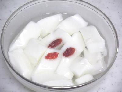 杏の種から作る、杏仁豆腐の作り方
