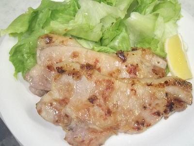豚ロースの麦塩麹焼き