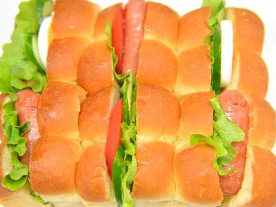 サンドイッチちぎりパン