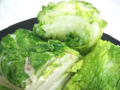 白菜の麦塩麹漬け