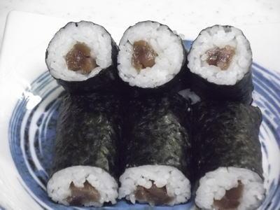 芋がらの巻き寿司