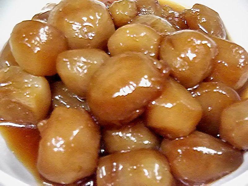 菊芋の甘辛煮の作り方 , つくる楽しみ