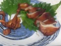 ホッキ貝の燻製