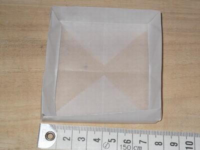 折り紙で箱を作る方法