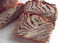 チョコレートの折込パン