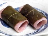 桜餅 関東風 (小麦粉)
