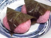 桜餅 関西風 (道明寺粉)