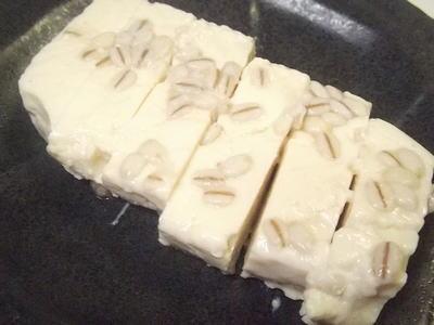 豆腐の麦塩麹漬け