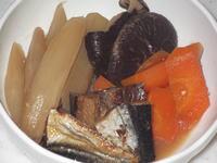 ウドと身欠き鰊の煮物