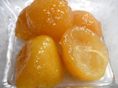 柚子の甘露煮の作り方 , つくる楽しみ