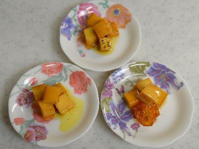 燻製チーズ オリーブオイル漬け