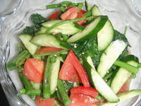 アイコの中華風サラダ