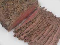 牛肉の塩釜焼き