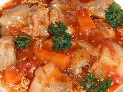 豚バラのトマト煮