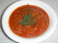 豚ヒレ肉のトマト煮