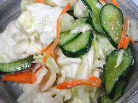 キャベツと胡瓜の寒麹漬け