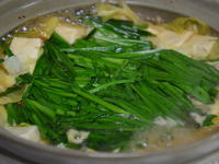 ホルモン鍋 (もつ鍋)