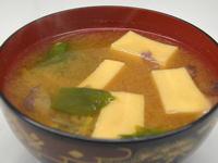 カタクリの味噌汁