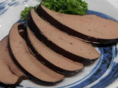 豚レバーの燻製