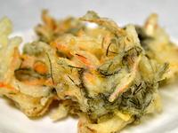 松藻の天ぷら