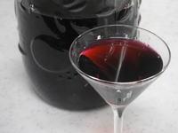 ワインのような仕上がり、ナツハゼの果実酒