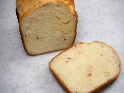 桜マーブルパン