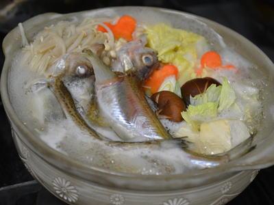 しょっつる鍋 (ハタハタ鍋)