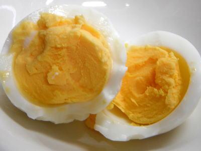 塩味付き茹で卵