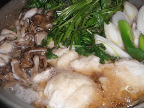 山の芋鍋 (つくね芋)
