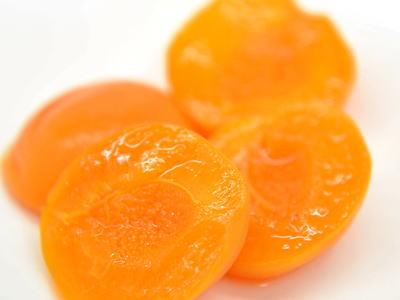 杏のシロップ煮