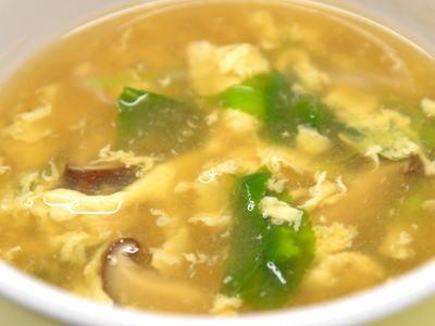 明日葉のスープ