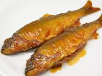 鮎の揚げ煮