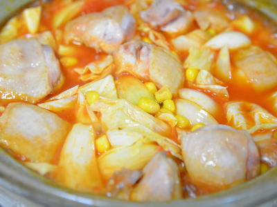 チリトマト鍋