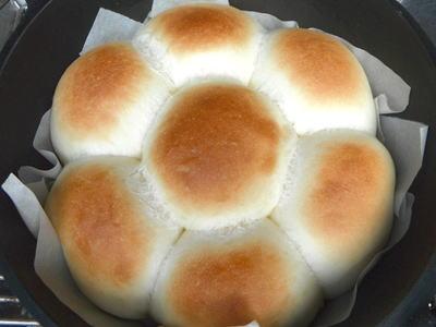 タッチオーブンで作る、ちぎりパン