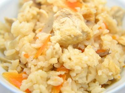 どんどろけ飯 (豆腐の炊込みご飯)