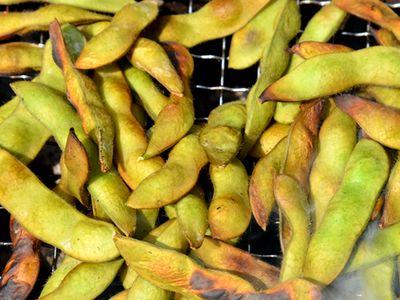 枝豆 ピート燻製バーベキュー