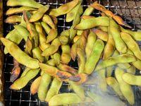 枝豆の燻し焼き