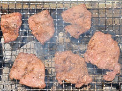 牛タン ピート燻製バーベキュー