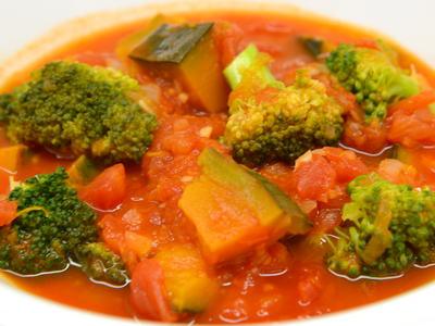 かぼちゃトマトスープ