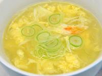 かに玉スープ