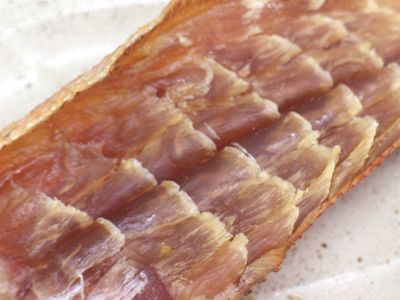 金目鯛のトバ風 冷燻製