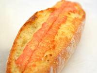 明太子マヨ入りフランスパン