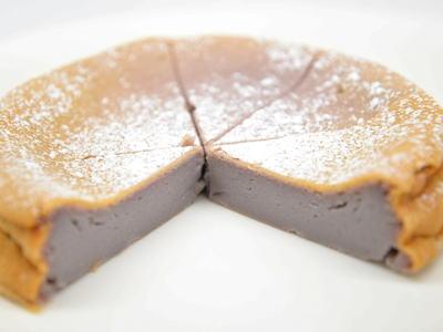 紫芋ケーキ