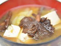 ナラタケの味噌汁