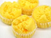 オレンジ蒸しパン