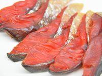 塩鮭のトバ風冷燻