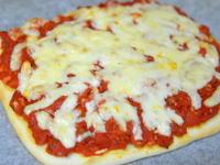 サルサクリスピーピザ