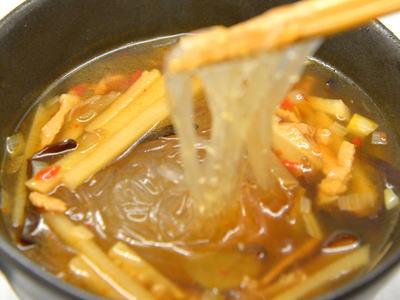 酸辣湯春雨スープ