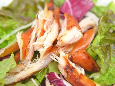 鶏ササミの燻製