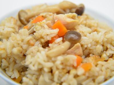 そば米の炊込みご飯